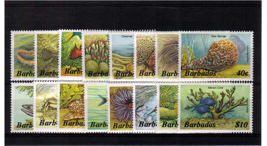 A superb unmounted mint set of sixteen.<br/><b>ZKB</b>