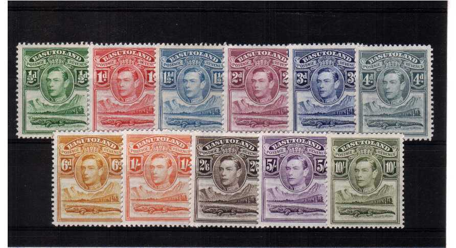 A fine mounted mint set of eleven.<br><b>XLX</b>