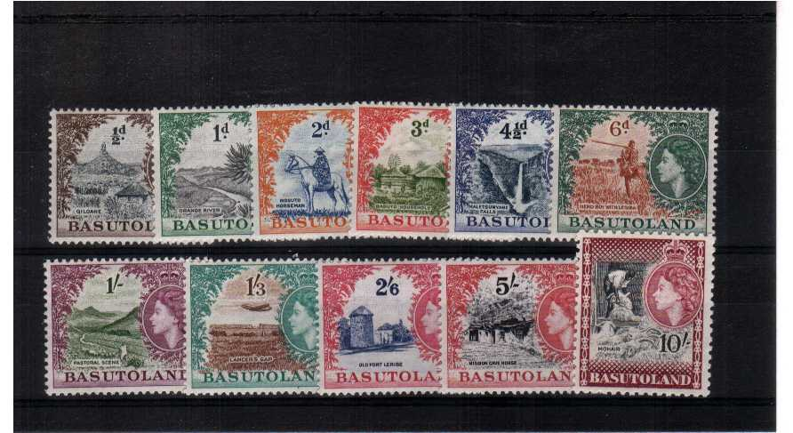 A superb unmounted mint set of eleven. <br/><b>QGQ</b>