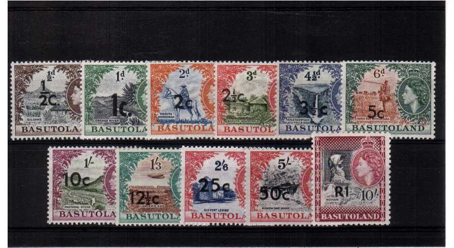 A superb unmounted mint set of eleven.<br><b>QRQ</b>