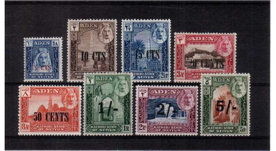 A fine lightly mounted mint set of eight.<br><b>XCX</b>