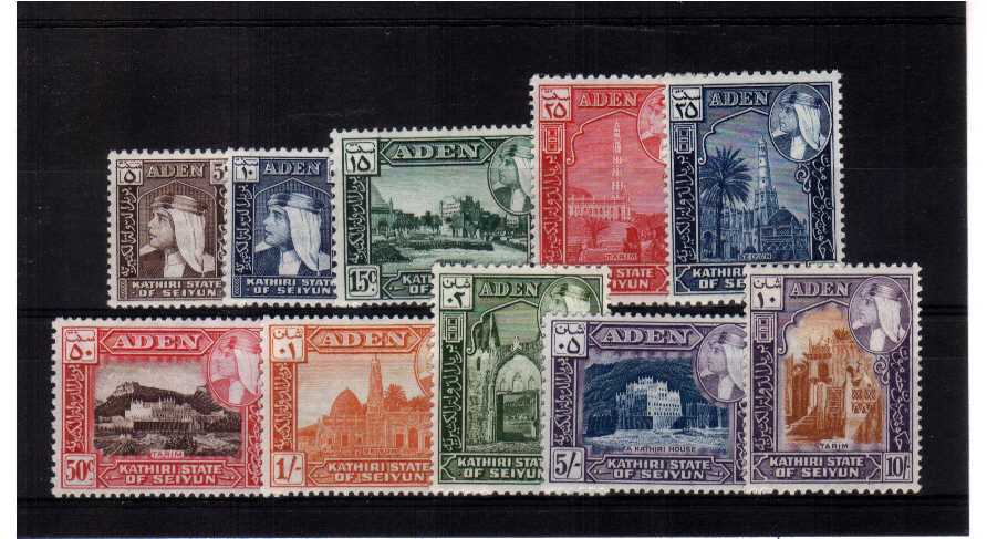 A superb unmounted mint set of ten.