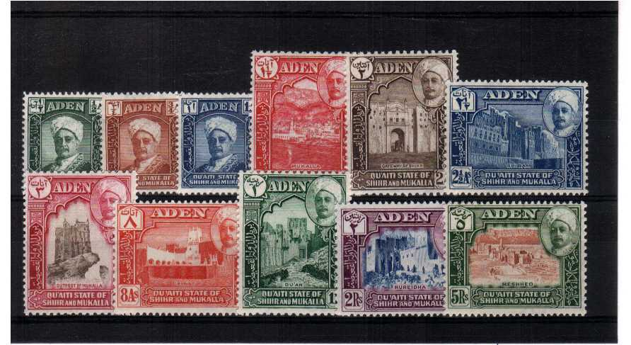 Superb unmounted mint set of eleven.<br><b>XCX</b>