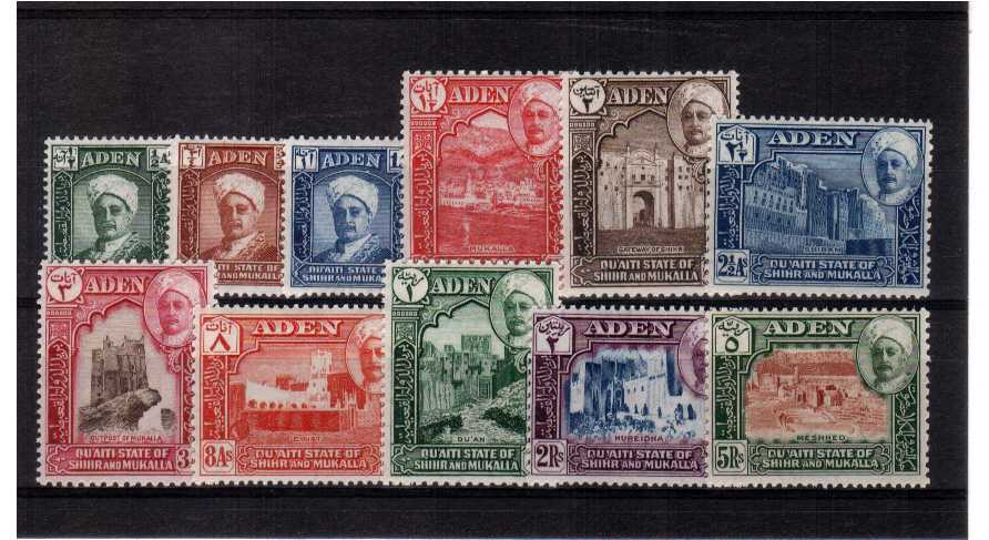 A fine mounted mint set of eleven.<br><b>XCX</b>