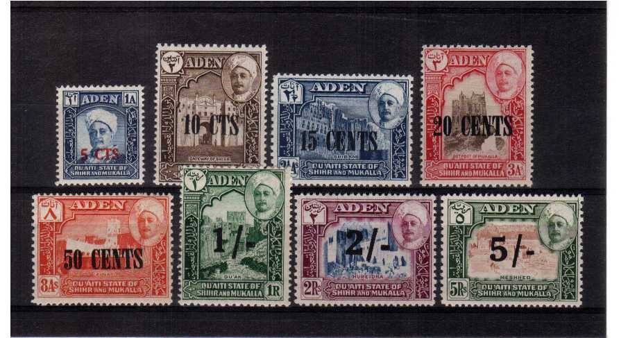 Superb unmounted mint set of eight.<br><b>QGQ</b>
