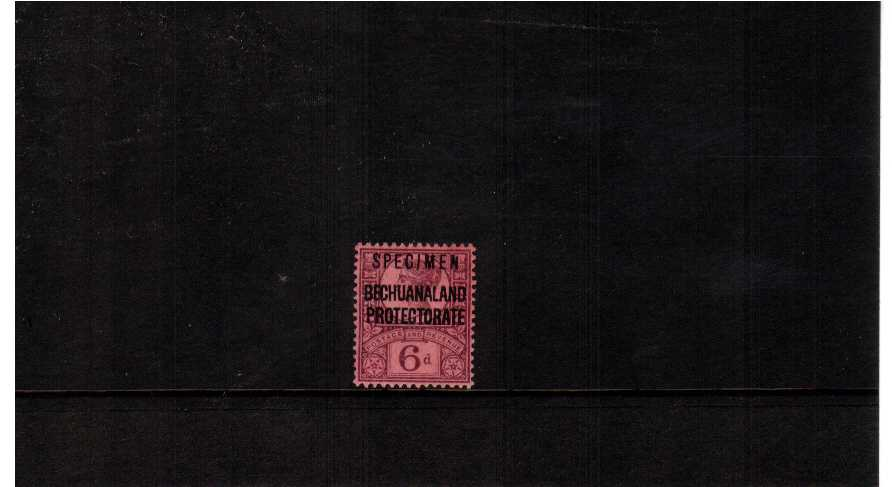 fine mounted mint stamp overprinted SPECIMEN