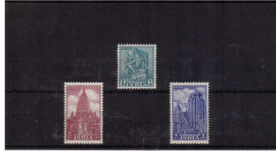 A superb unmounted mint set of three.<br/><b>QTQ</b>