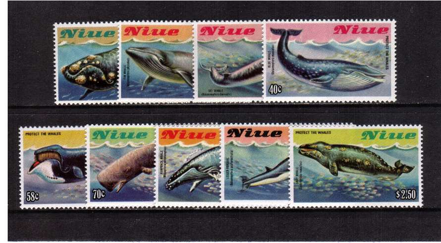 Protect the Wales set of nine superb unmounted mint.
