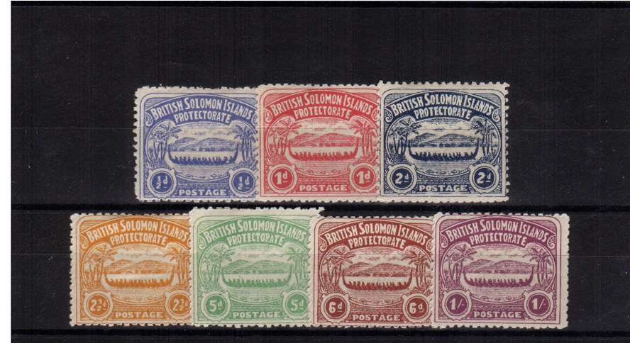 A good mounted mint set of seven.