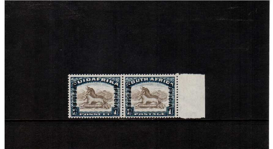 superb very lightly mounted mint marginal pair