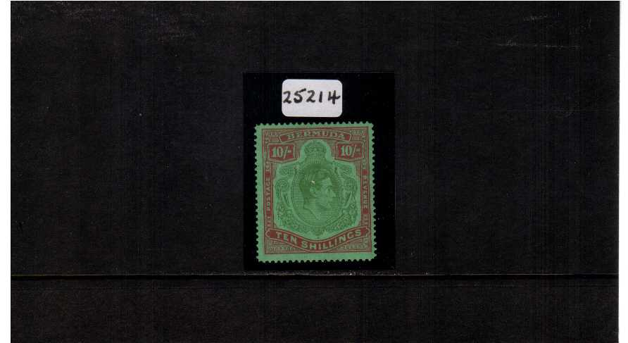 KEY TYPE - fine mounted mint stamp with line perforation 14� offered with a Brandon certificate.   Cat �5