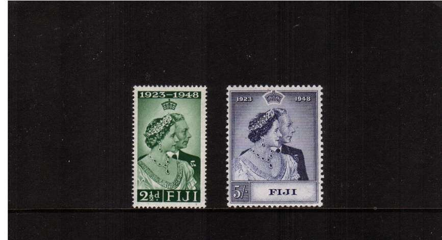 The Royal Silver Wedding set of two superb unmounted mint.<br/><b>SEARCH CODE: 1948RSW</b><br/><b>ZKM</b>
