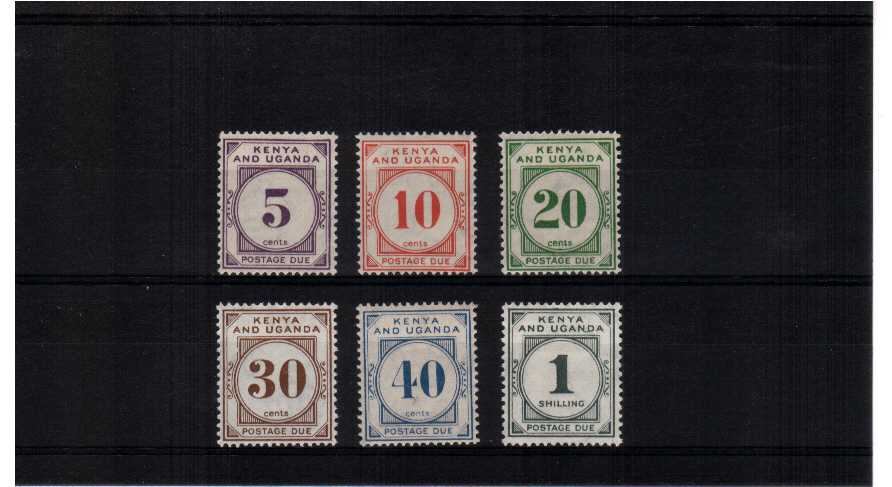 A fine mounted mint set of six.<br/><b>ZKH</b>