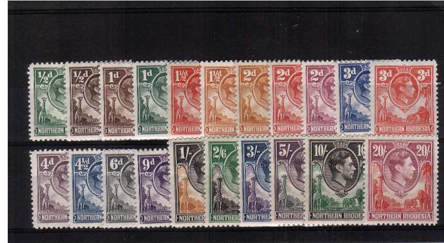 A superb unmounted mint set of twentyone.<br><b>XPX</b>