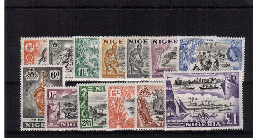 A superb unmounted mint set of thirteen.<br/><b>XGX</b>