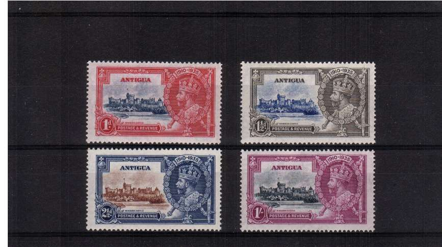 Silver Jubilee set of four superb unmounted mint.<br/><b>SEARCH CODE: 1935JUBILEE</b><br/><b>QFQ</b>