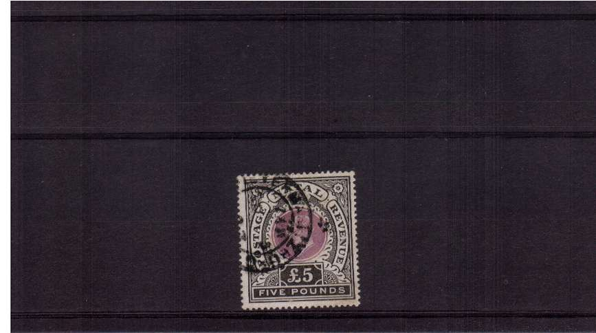 �Mauve and Black cancelled with a double ring CDS. SC Cat �0
