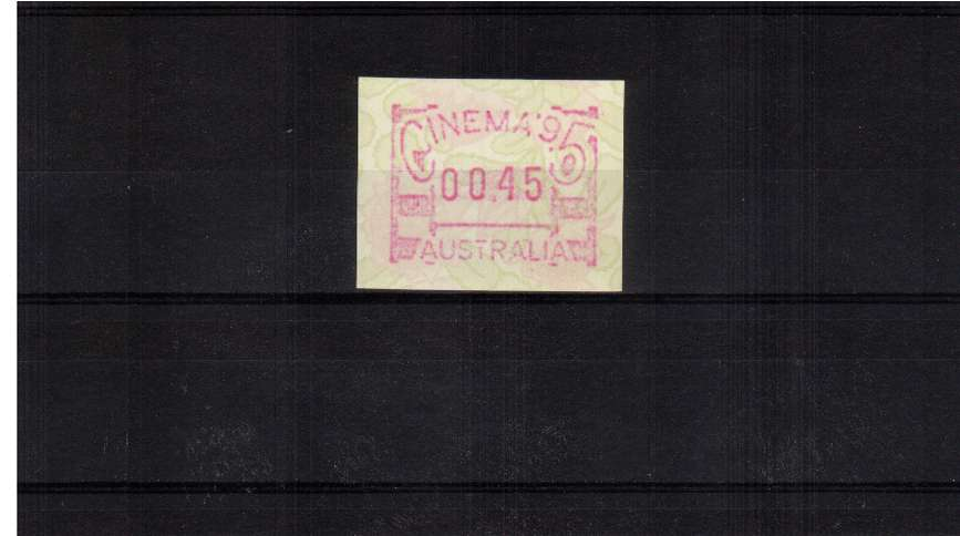 45c Cinema FRAMA  single superb unmounted mint<br/>Issue Date: 10 JUNE 1995