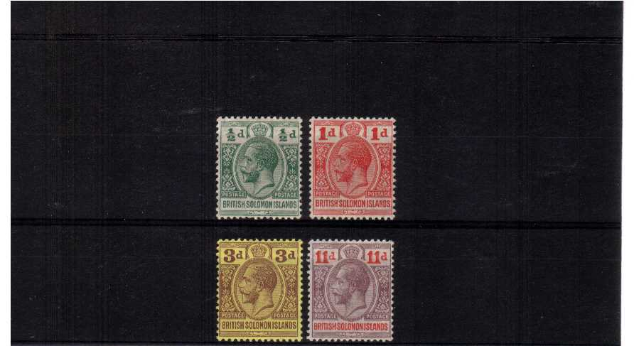 A superb unmounted mint set of four.<br><b>XUX</b>