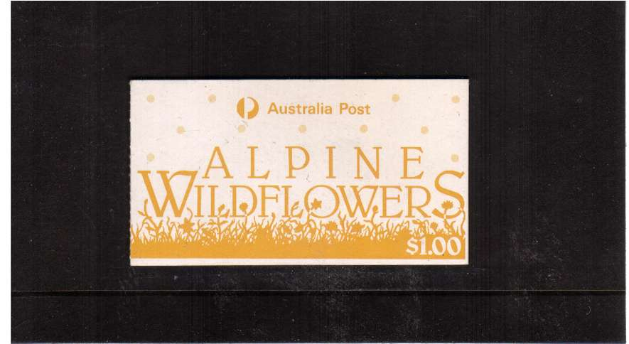 $1 Alpine Flowers complete booklet