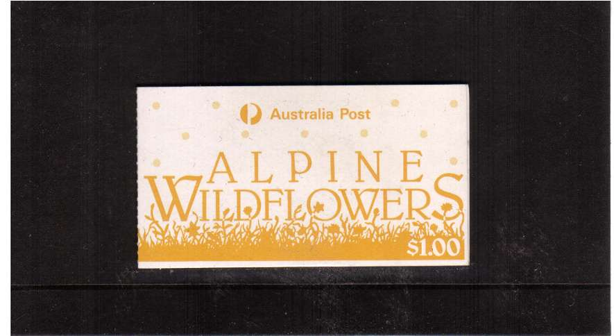 $1 Alpine Wildflowers USED complete booklet