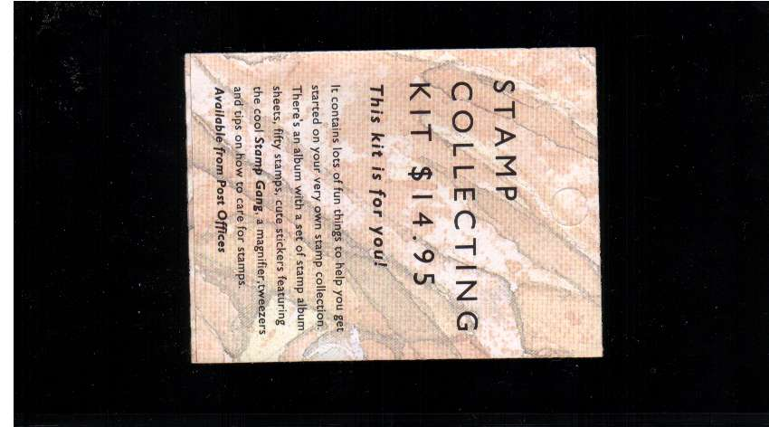 $4.50 - Stamp Collecting Kit text - complete booklet