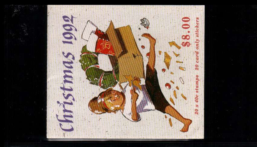 $8 Christmas complete booklet