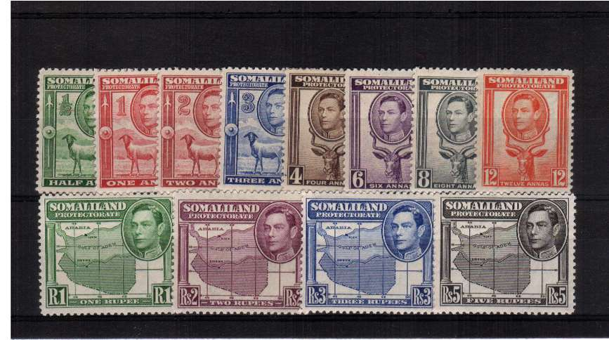 A superb unmounted mint set of twelve.<br><b>QGQ</b>