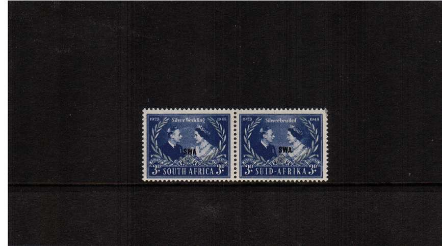 The 1948 Royal Silver Wedding pair superb unmounted mint .<br/><b>SEARCH CODE: 1948RSW</b><br/><b>ZDZ</b>