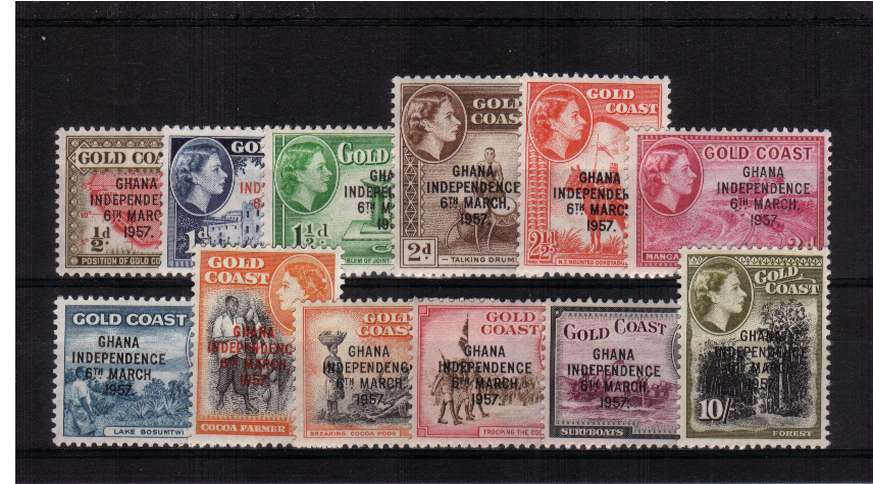 A superb unmounted mint set of twelve.