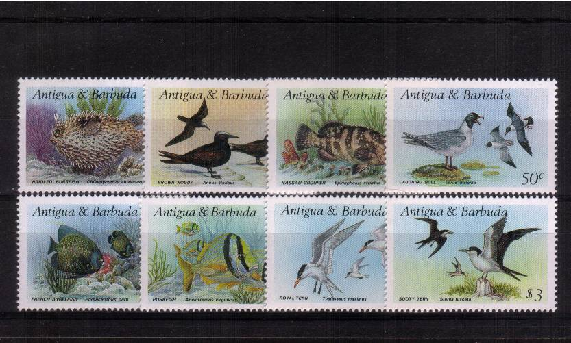 Marine Life<br/>A superb unmounted mint set of eight