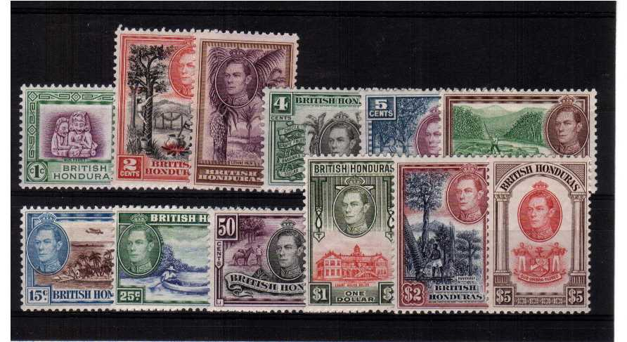 A superb unmounted mint set of twelve. Scarce unmounted. <br/><b>QGQ</b>