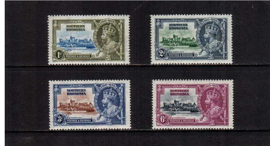 Silver Jubilee set of four superb unmounted mint.<br/><b>SEARCH CODE: 1935JUBILEE</b><br><b>ZGZ</b>