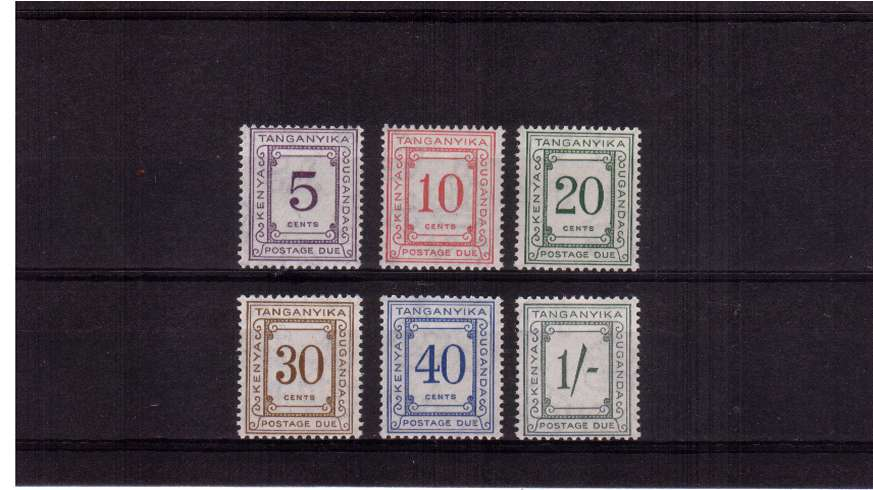 Postage Due set of six superb unmounted mint.