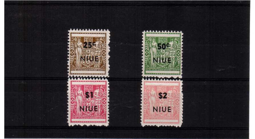A superb unmounted mint set of four - Perforation 11