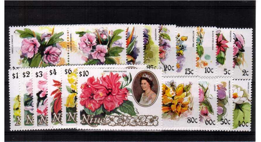 Superb unmounted mint set of thirty