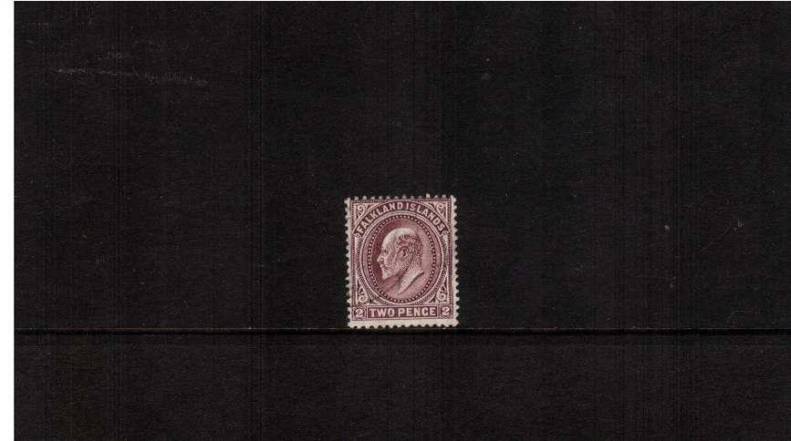 2d Reddish Purple. A superf fine used single. SG Cat £275