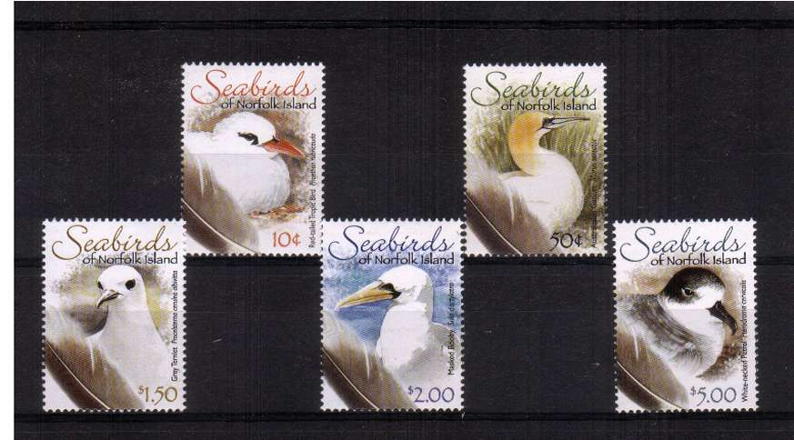 Seabird definitives - Part One - set of five superb unmounted mint.