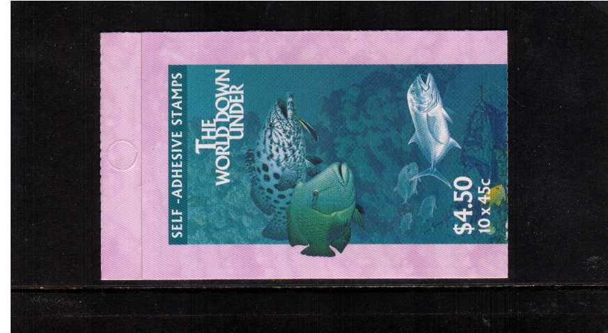 $4.50 Marine Life complete booklet