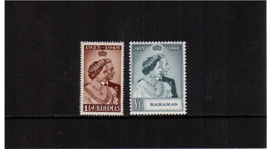 the 1948 Royal Silver Wedding set of two superb unmounted mint.<br/><b>SEARCH CODE: 1948RSW </b>