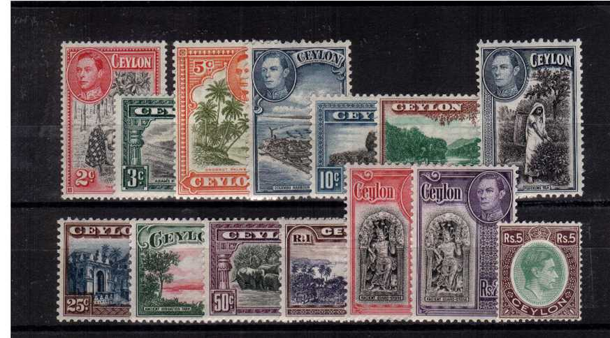 A superb unmounted mint set of fourteen.