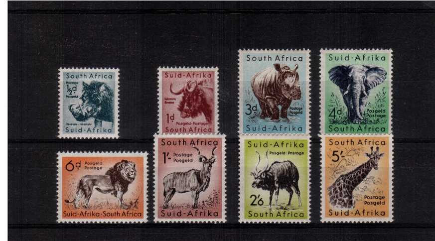 A superb unmounted mint set of eight.
