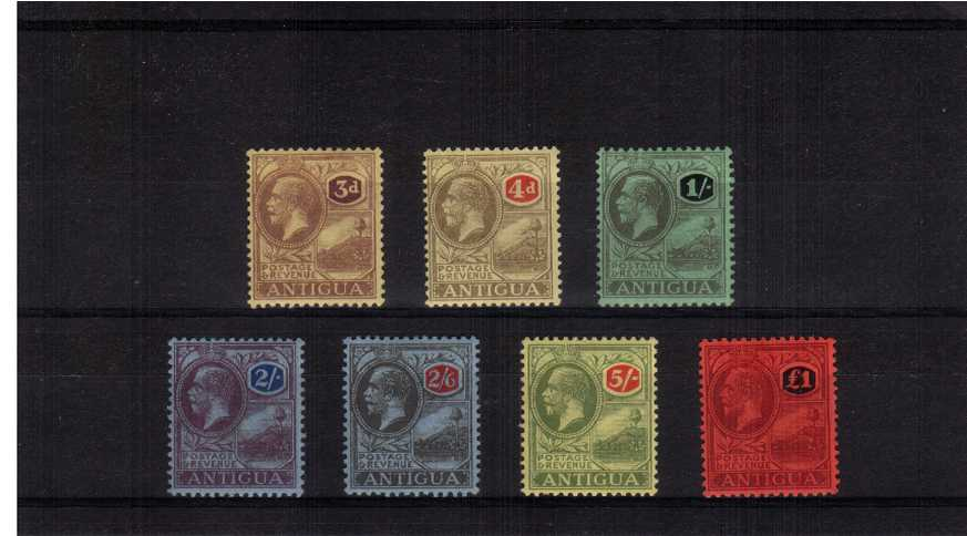 A fine lightly mounted mint set of seven.<br/>SG Cat �5.00