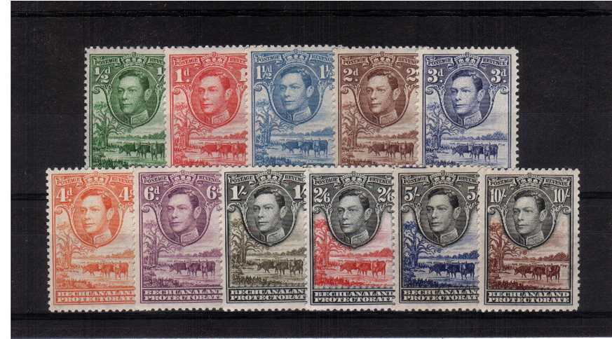 A superb unmounted mint set of eleven.<br/><b>QGQ</b>