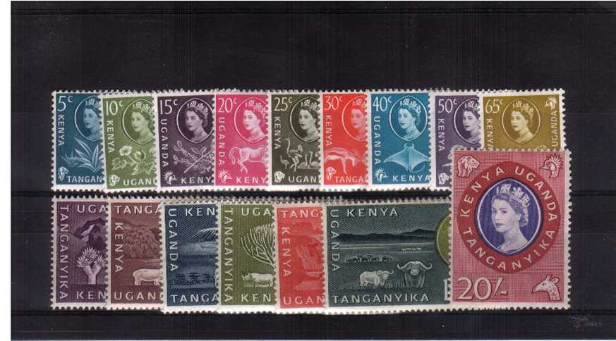 A very lightly mounted mint set of sixteen.<br><b>QQH</b>
