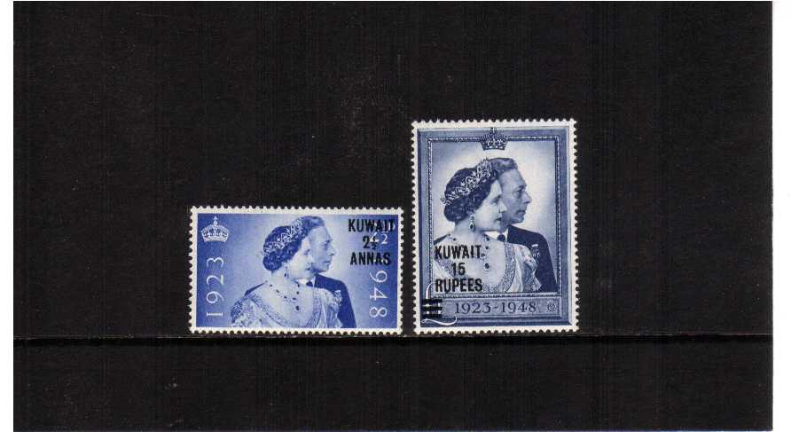 the 1948 Royal Silver Wedding set of two superb unmounted mint.<br/><b>SEARCH CODE: 1948RSW</b><br><b>UBU</b>
