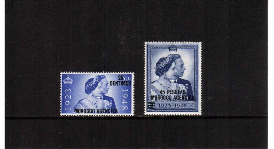the 1948 Royal Silver Wedding set of two superb unmounted mint.<br/><b>SEARCH CODE: 1948RSW</b><br/><b>ZKL</b>