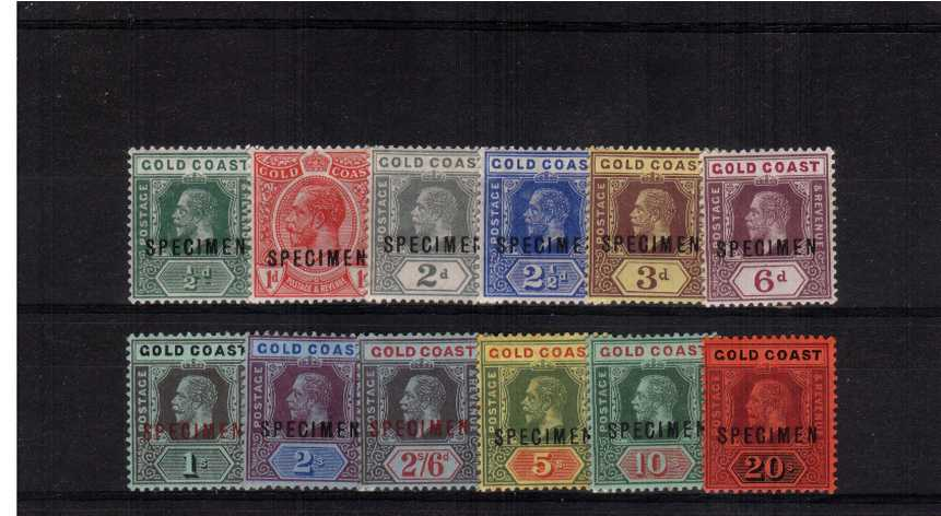 A lovely fine and fresh ''SPECIMEN'' set of twelve.
