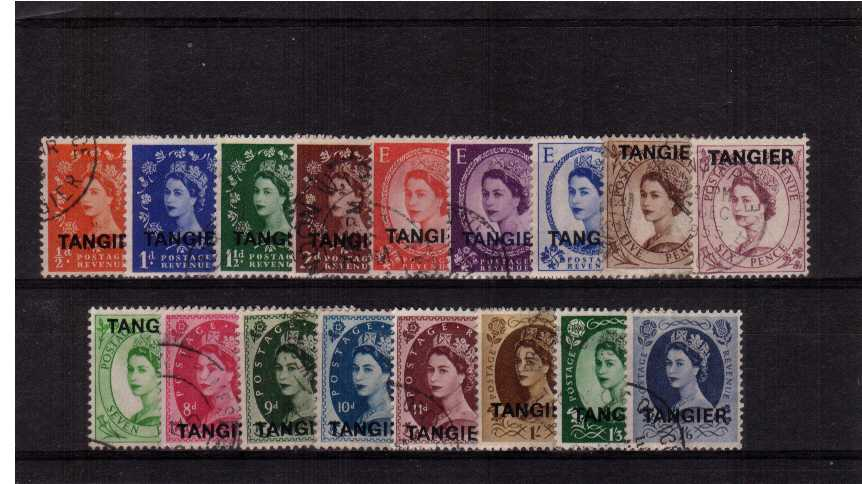 A superb fine used set of seventeen with Tudor Crown watermark. 