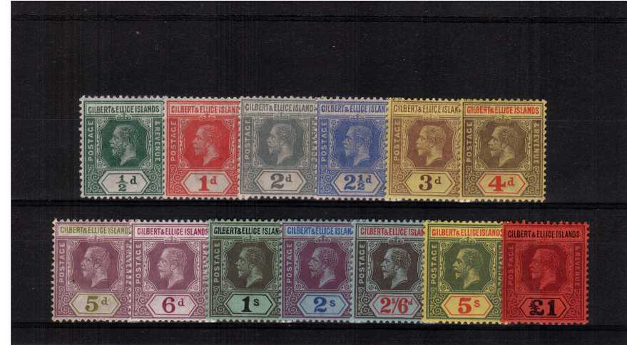 A superb bright and fresh lightly mounted mint set of thirteen.<br/>SG Cat �0.00